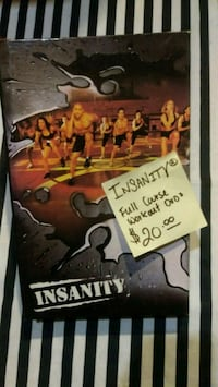 INSANITY beach body full dvd course Sacramento, 95838