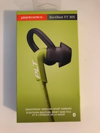 Wireless Earbuds Plantronics Backbeat Fit 305 Bluetooth Vaughan