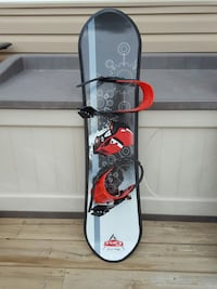 black white and red cars snowboard