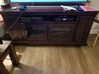 Solid wood tv stand entertainment center Reston, 20190