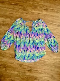 American Eagle size m feather top