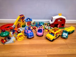 Collection of Little People Toys
