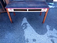 black and red wooden table Des Moines, 50322
