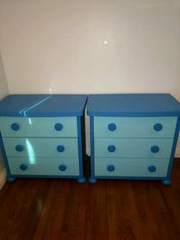 Two Ikea Kids Blue Mammut Chests/Dressers Fairfax, 22030