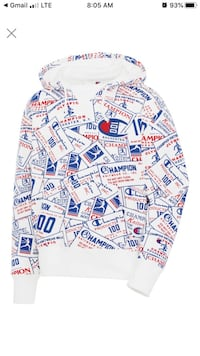 Champion hoodie new with tags