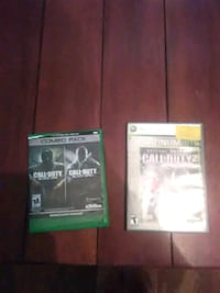 two Xbox 360 games New Iberia