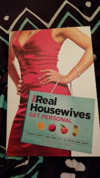 The real housewives get personal book