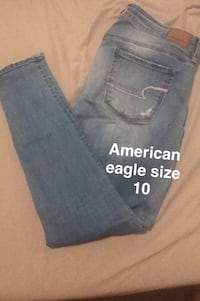 American Eagle, Silver jeans and under armour