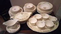 46 piece set Vintage Knowles Semi Vitreous china Burke, 22015