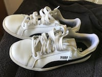 Sneakers Puma vit/svarta Gothenburg