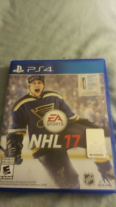 NHL 17 PS4 game