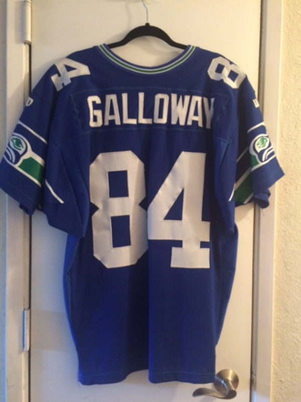 separation shoes bab34 df8a8 RARE Mens Vintage Seattle Seahawks Joey Galloway Jersey Size L