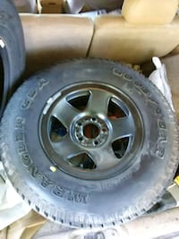 15 in new wheel and tire Oskaloosa, 66066