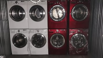Washer and dryer sets each set