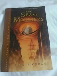 The Sea of Monsters by Rick Riordan book Springfield, 65804