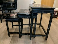 Antique Side tables - 3 piece set Toronto, M5A