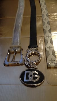 Women belts , Guess , Baby Phat , buckle