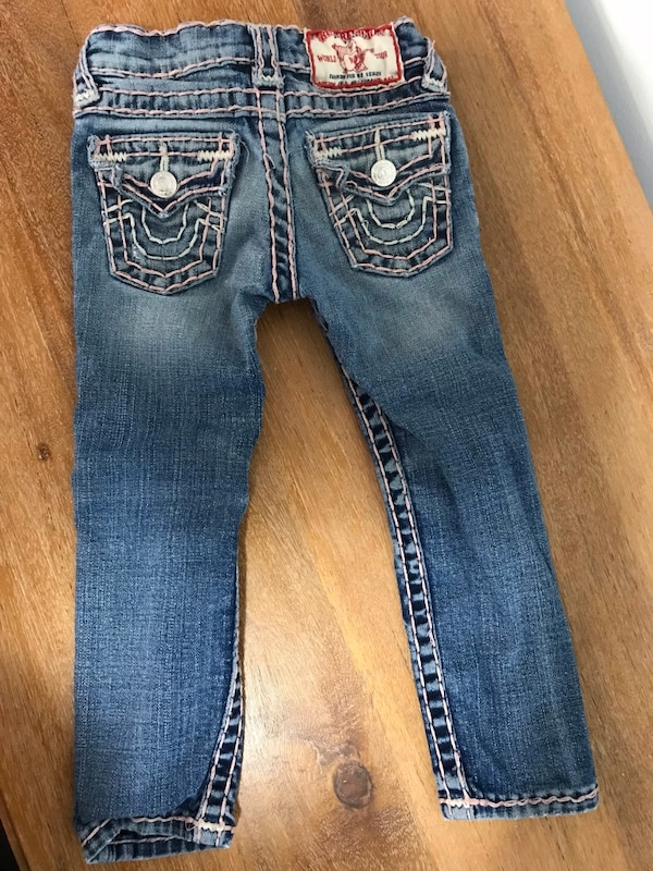 True Religion Toddler Girls Jeans Size 3 60fc9af8-cbeb-4503-9fcb-4a429796dca5