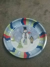 Snowman serving tray Barrie