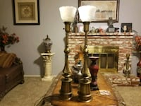 Two 1940's Rembrandt Lamps antique  2336 mi