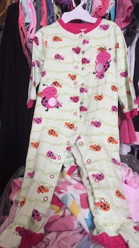 white and pink floral onesie Toronto, M3M 2H2