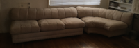 Couch cream 3 piece set View Park-Windsor Hills