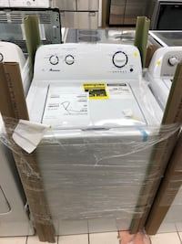 New/Open Box Amana High efficiency energy star top load washer, never been used 100 days warranty  Baltimore, 21222