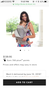 New Lillebaby baby and toddler carrier Vancouver, V5V