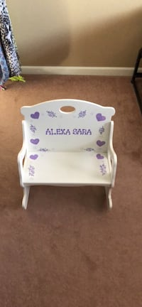 White rocking bench for kids Wantagh, 11793