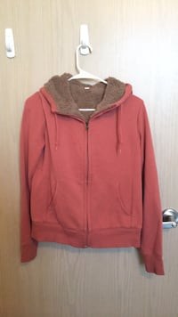 red zip-up hoodie Ann Arbor, 48104
