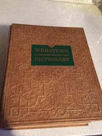 Antique Webster's dictionary  Toronto, M6N 4P8