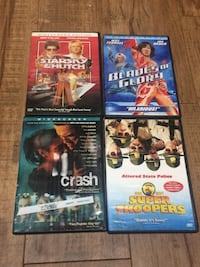 DVDs ($8 for all)
