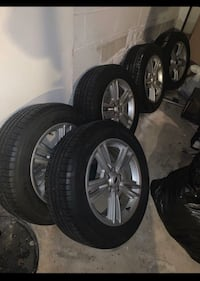 Mustang rims with FREE tires