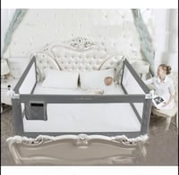 New, unused.. King Size/Queen Size Bed GuardRail - gray 3 available  St Thomas, N5R 6M6