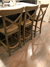 New counter top chairs , 3 piece ! Vancouver, 98682