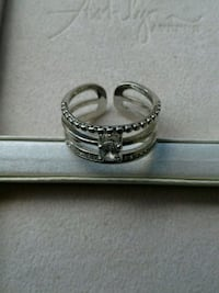 Ashlyn ave 18k white gold ring new in box  Burtonsville, 20866