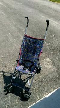 blue and red lightweight stroller New Tecumseth