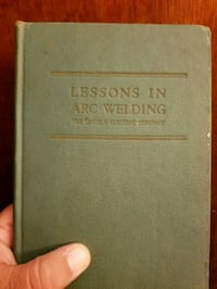 Lincoln 1947 3rd edition Arc welding book Newton, 28658
