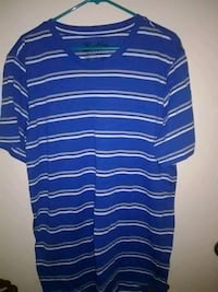 blue and white striped crew-neck shirt Long Beach, 90805