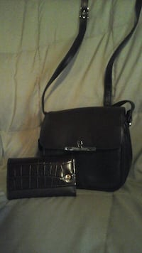 Etienne Aigner purse and matching wallet