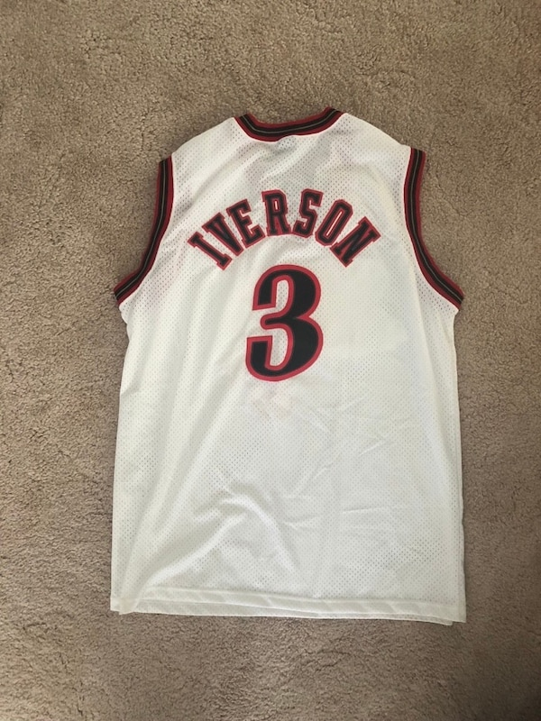 competitive price 31033 990cf Allen iverson jersey