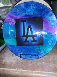 Decorative glass plate Bakersfield, 93307