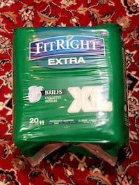 xlarge adult diapers (3 are available) Gaithersburg, 20878