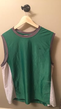 green and white crew-neck shirt Red Deer, T4R 0J2