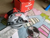 gray and red Milwaukee circular saw South Laurel, 20708