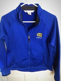 Best Buy royal blue sweater jacket with zipped pockets small/medium