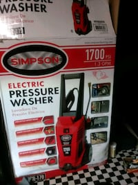 Simpson 1700 PSI electric pressure washer Fairfax, 94930
