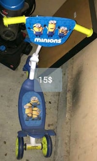 Move out sale..must go..minion scooter