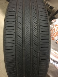 2 x micheline tires - a/s 235-60r 16. Over 75 % tread on them