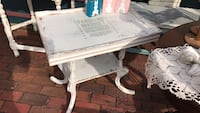 white wooden square table Indianapolis, 46234